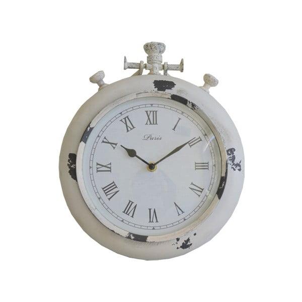 Nástěnné hodiny Retro, bílé