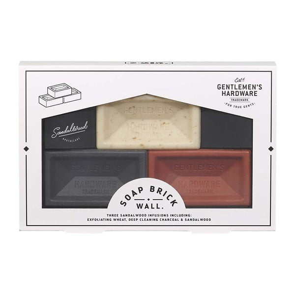 Zestaw 3 mydeł Gentlemen's Hardware