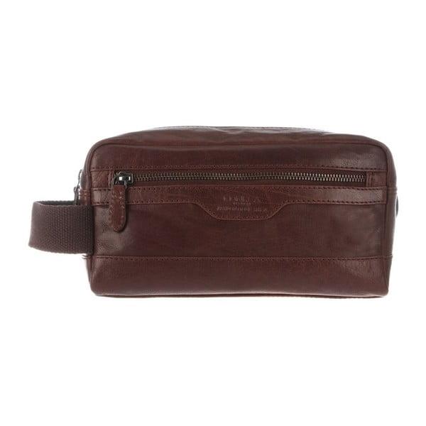 Kožená kosmetická taška Winderemere Brown