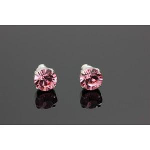 Náušnice Swarovski Elements Rosa