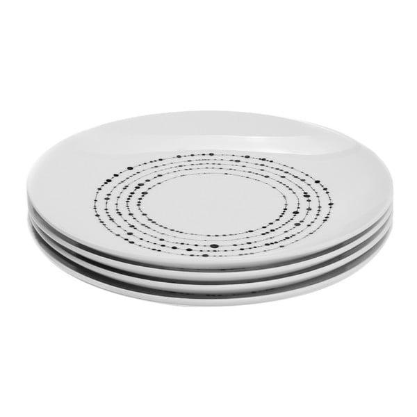 Sada 4 porcelánových talířů Sola Lunasol, 20,5cm