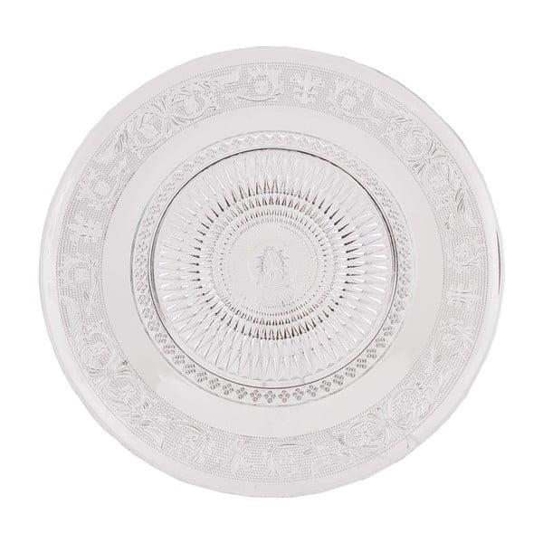 Skleněný talíř Clayre, 33 cm