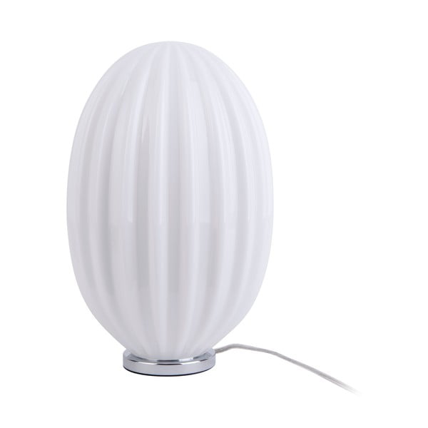 Smart fehér asztali lámpa, magassága 31 cm - Leitmotiv