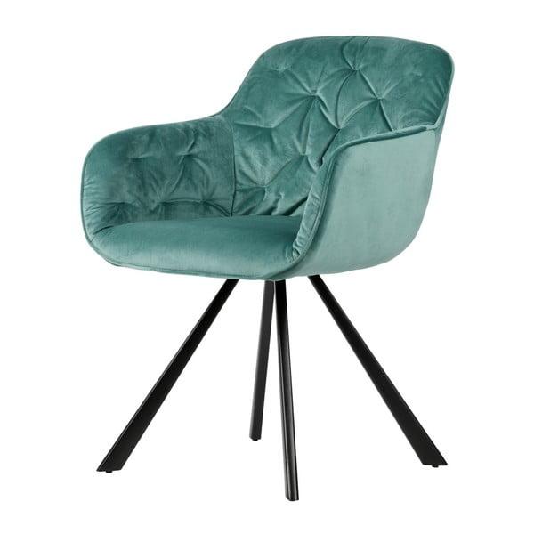 Světle zelená židle De Eekhoorn Elaine