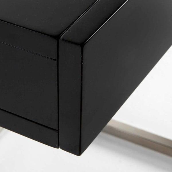 Noční stolek s černou deskou Thai Natura Man