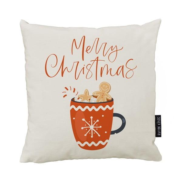Cacao karácsonyi párna pamut huzattal,50x50cm - Butter Kings