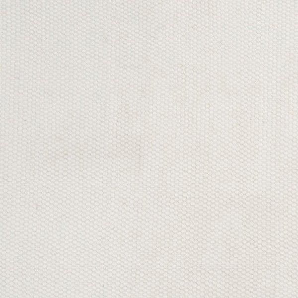 Vlněný koberec Bombay White, 80x200 cm