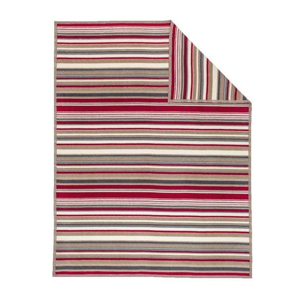Deka Red Stripe, 150x200 cm
