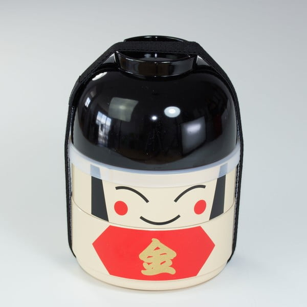 Dětský svačinový box Kokeshi Warrior, 440 ml