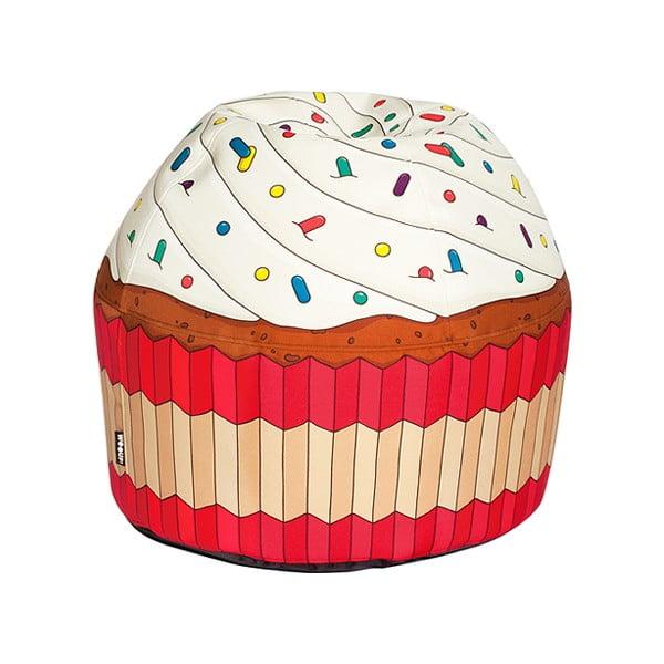 Sedací vak Cupcake Cream