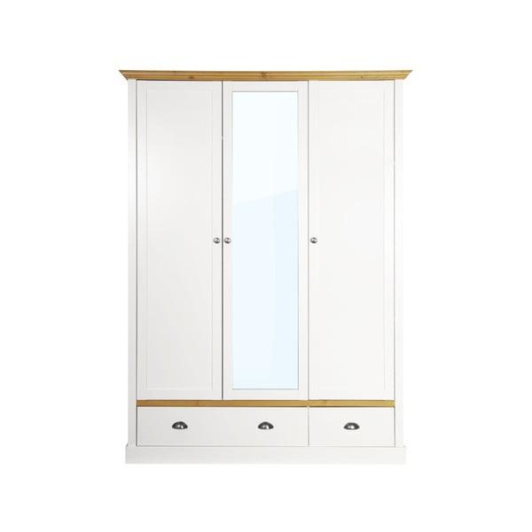 Sandringham krémfehér ruhásszekrény, 192 x 148 cm - Steens