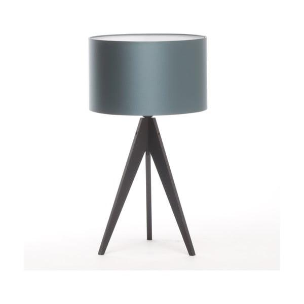 Stolní lampa Artista Black/Ice Blue, 28 cm