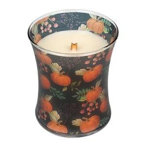 Lumânare parfumată  WoodWick Brioșe de dovleac, 275 g, 60 ore