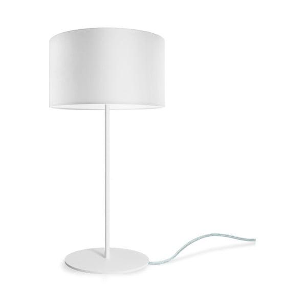 Biela stolová lampa Sotto Luce MIKA M 1T