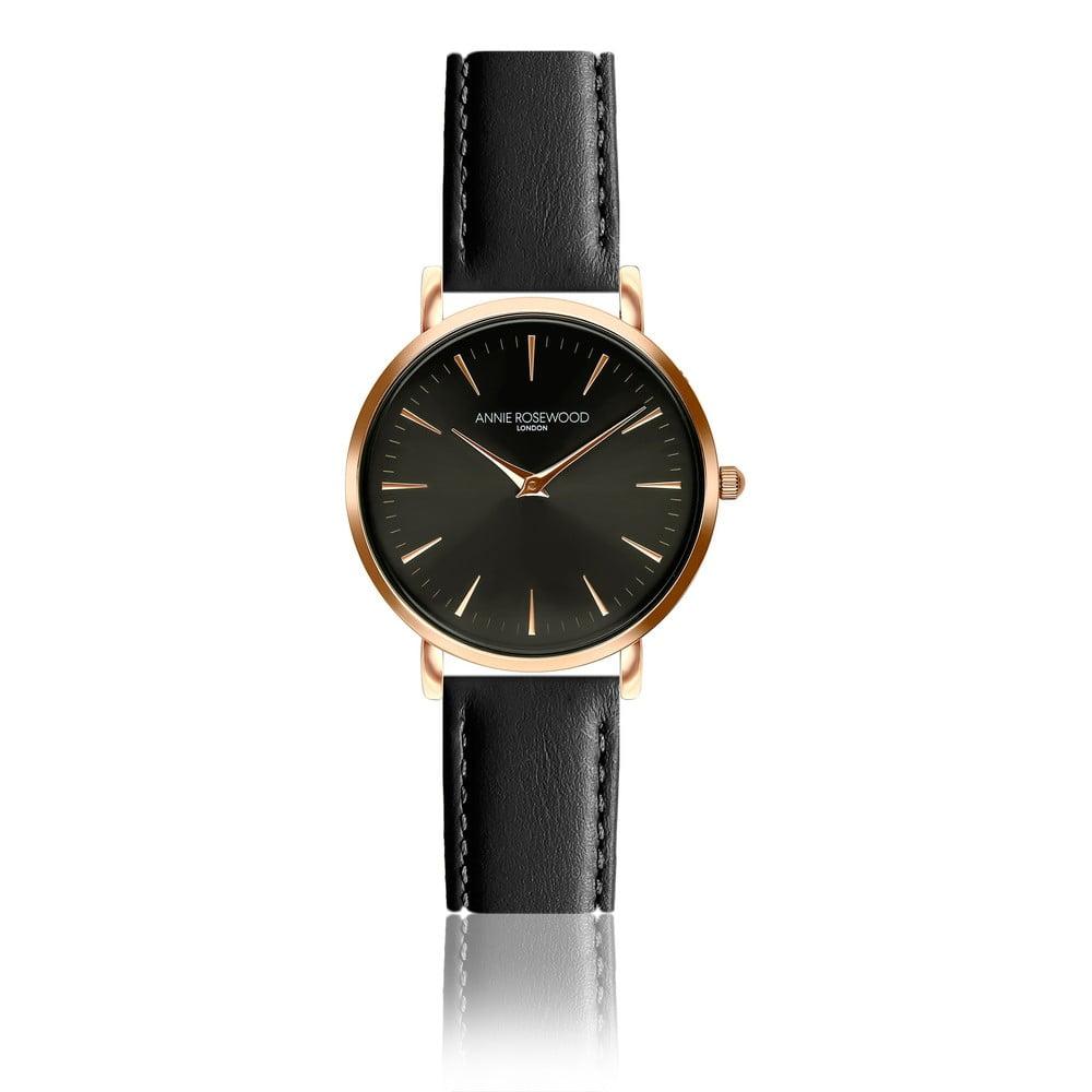 Dámské hodinky skoženým páskem Annie Rosewood Agi Dark