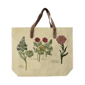 Plátěná taška s motivy květin Surdic Flowers