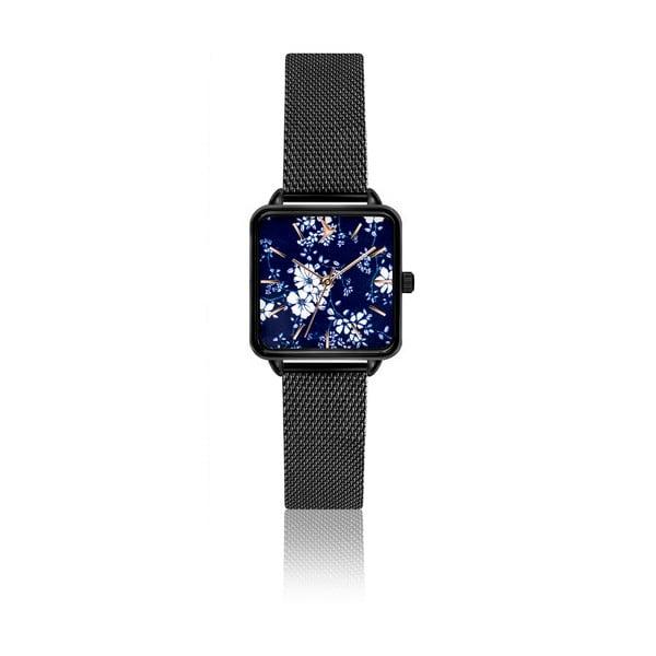 Dámské hodinky s páskem z nerezové oceli v černé barvě Emily Westwood Yoko