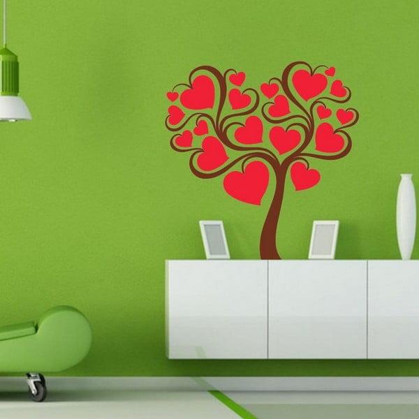 Dekorativní nálepka na stěnu Inlove Tree