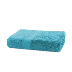 Tyrkysový ručník DecoKing Marina, 50x 100 cm