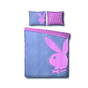 Povlečení Playboy Jeans Bunny, 140x200 cm