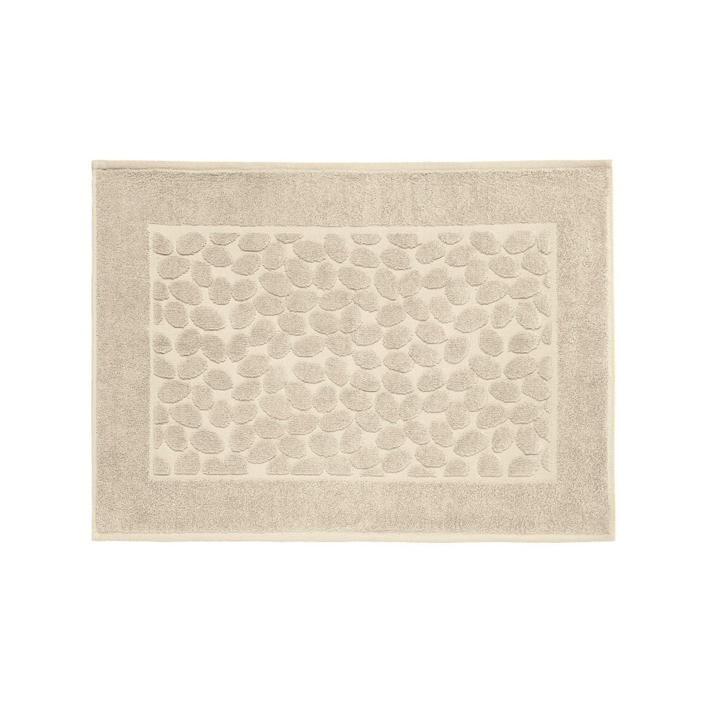 Fotografie Hnědá bavlněná koupelnová předložka Maison Carezza Ciampino, 50 x 70 cm