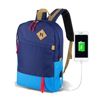 Rucsac cu port USB My Valice FREEDOM Smart Bag Mavi, albastru de la Myvalice