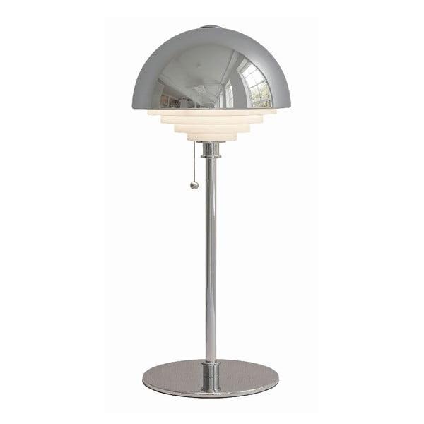 Stříbrná stolní lampa Herstal Motown