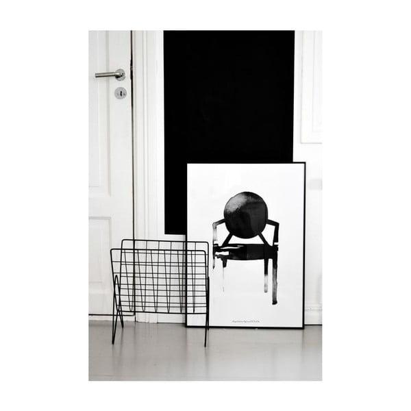 Autorský plakát Chair Ghost, 30x40 cm