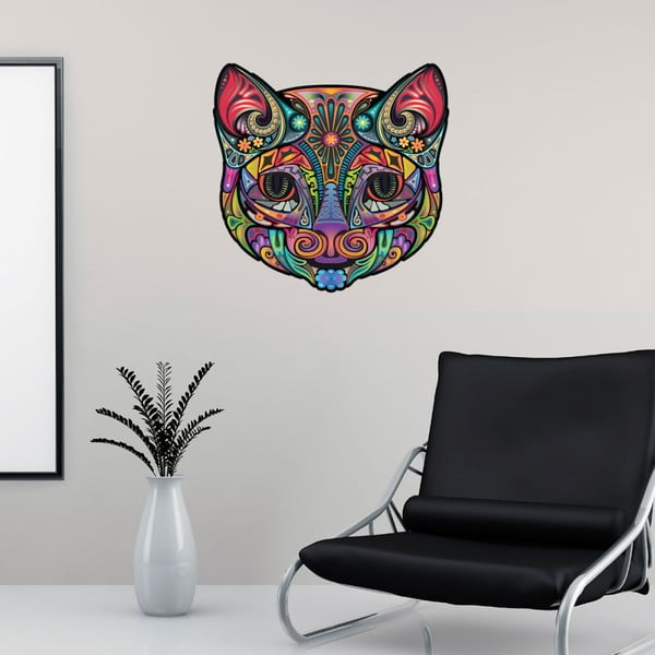 Autocolant Fanastick Multicolor Cat