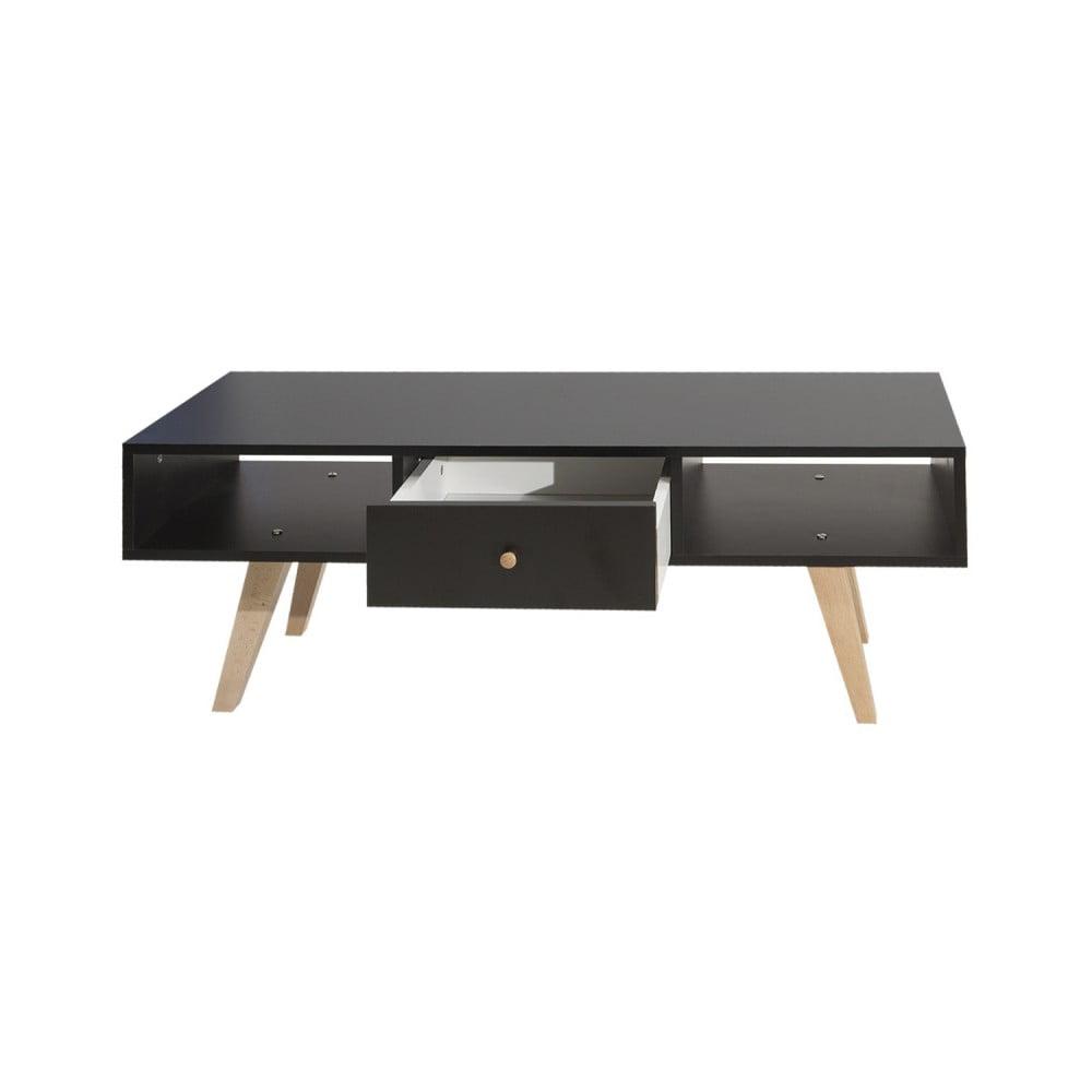 Černý televizní stolek Symbiosis Ula