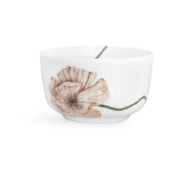 Bílá porcelánová miska Kähler Design Hammershøi Poppy, ø12cm