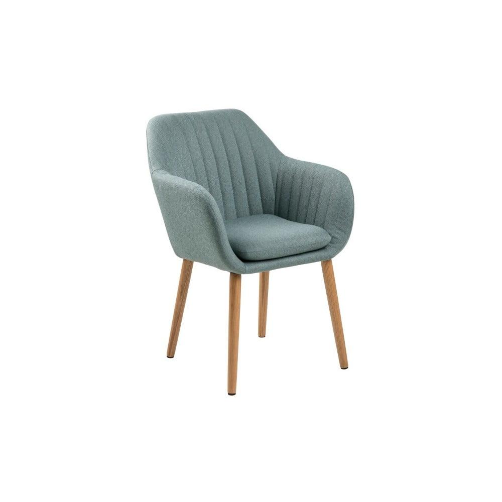 Světle modrá jídelní židle Actona Emilia