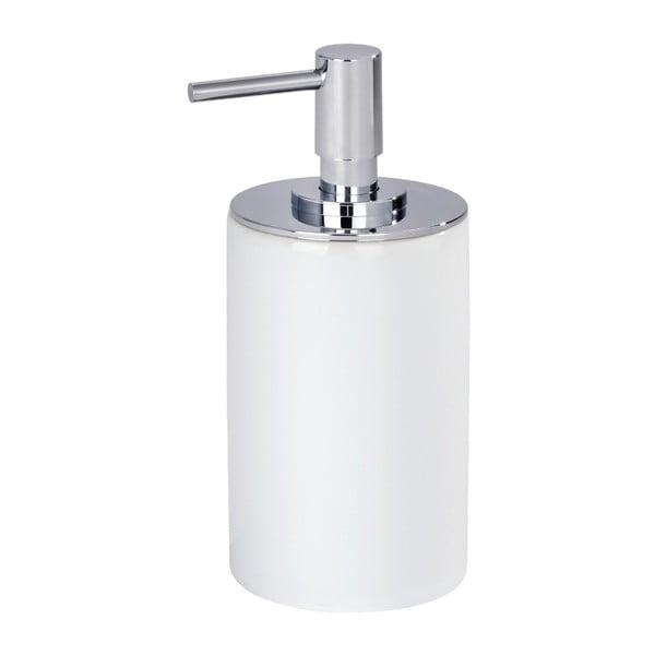 Biały ceramiczny dozownik do mydła Wenko Polaris Neo