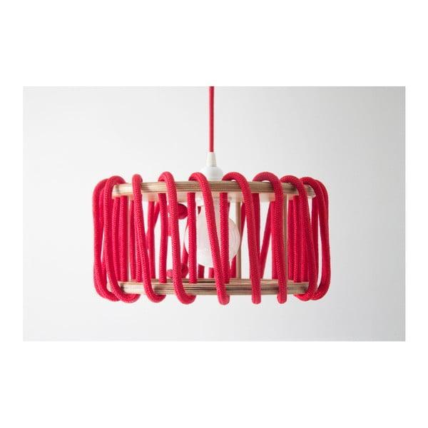 Červené stropní svítidlo EMKO Macaron, ø 30cm