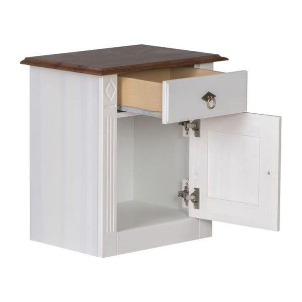 Noční stolek Wales, 53x37x57 cm