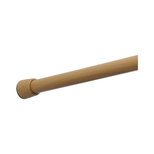 Teleskopická tyč na sprchový záves iDesign Formby, 109 - 190,5 cm