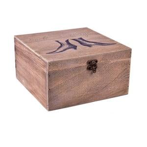 Dřevěná krabice Ego dekor Woman's Shoes,24x13cm
