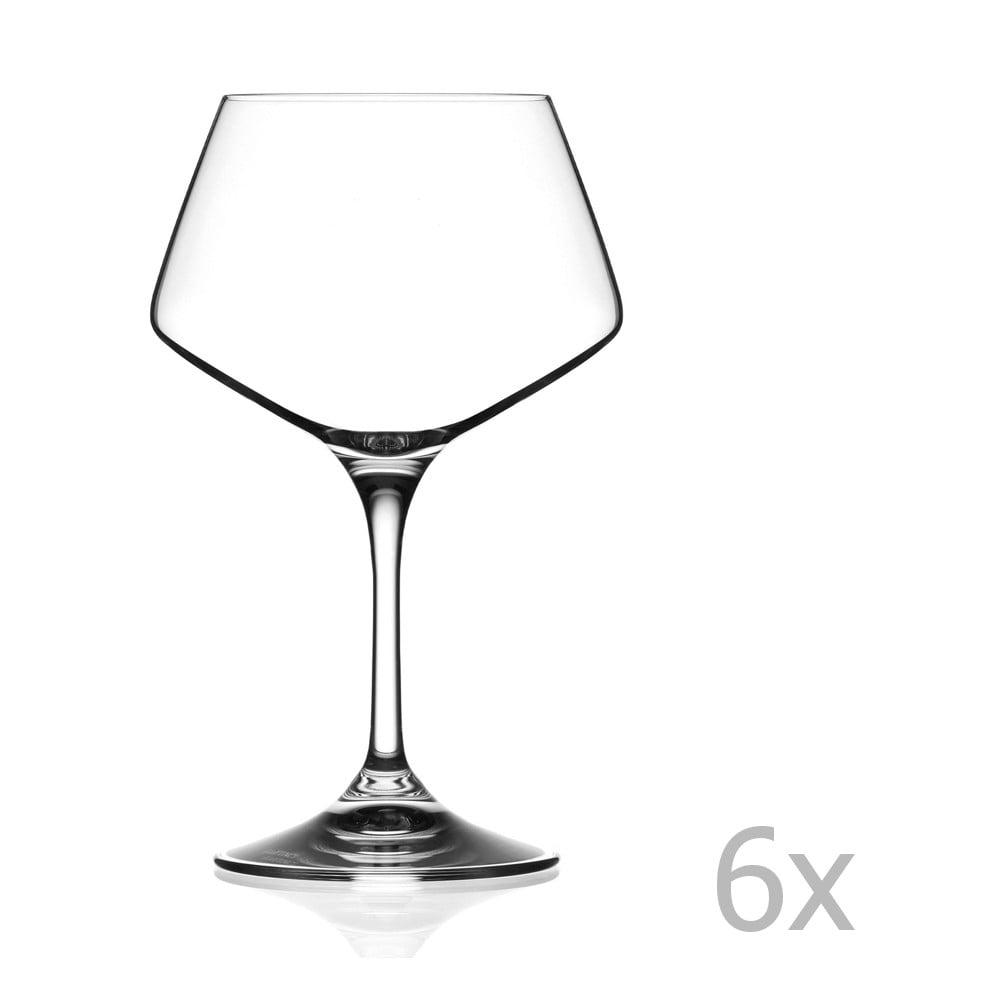 Sada 6 sklenic na víno RCR Cristalleria Italiana Grazia, 501ml