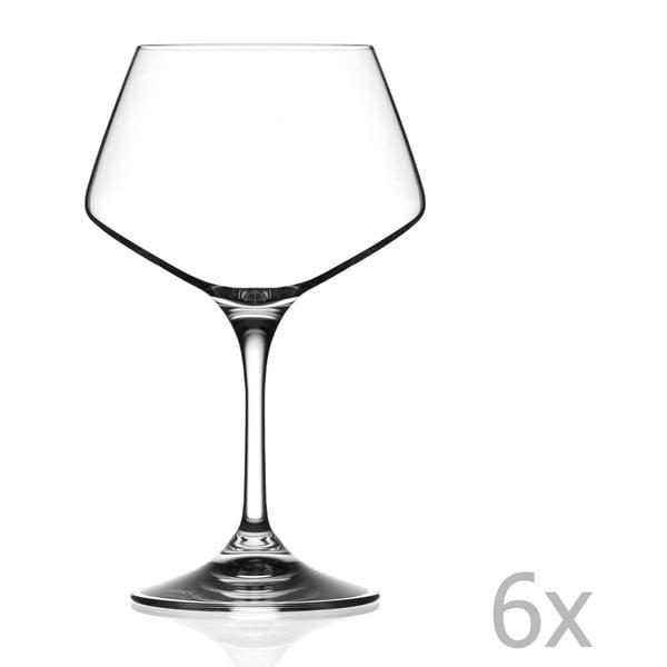 Grazia 6 db-os borospohár készlet, 501 ml - RCR Cristalleria Italiana