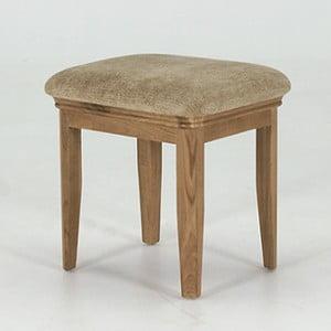 Stolička z dubového dřeva Vida Living Carmen