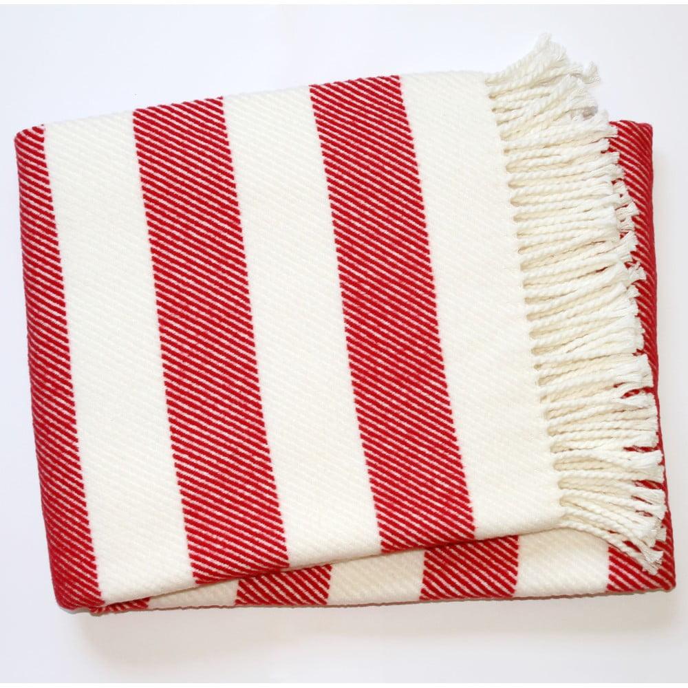 Červená deka Euromant Candy, 140 x 180 cm