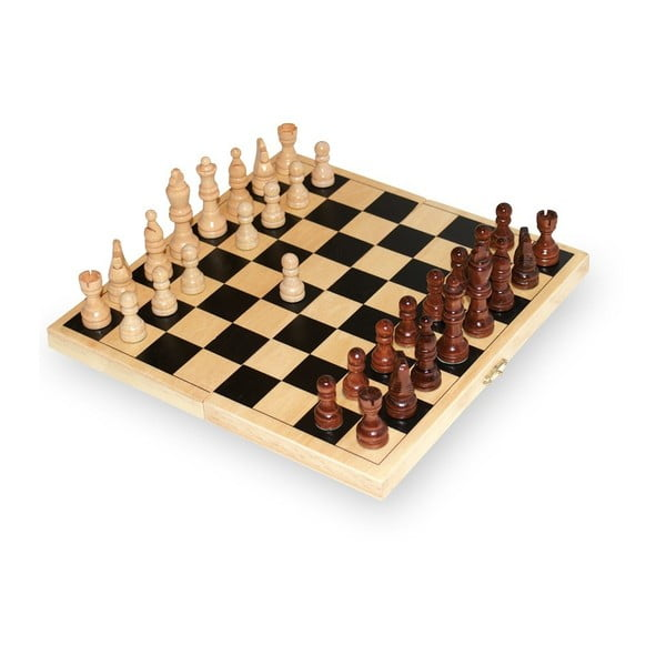 Drewniane szachy Legler Chess