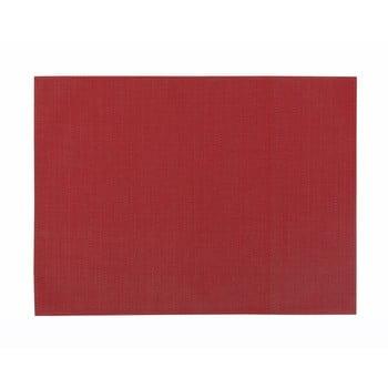 Șervet decorativ ZicZac Pure, roșu de la Tiseco Home Studio