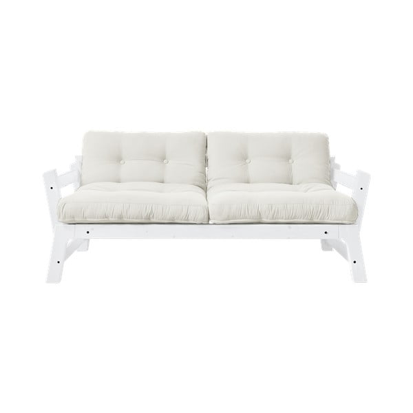 Canapea extensibilă Karup Design Step White/Natural