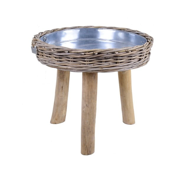 Ratanový stolek pod květiny Ego Dekor Nature, ø56cm