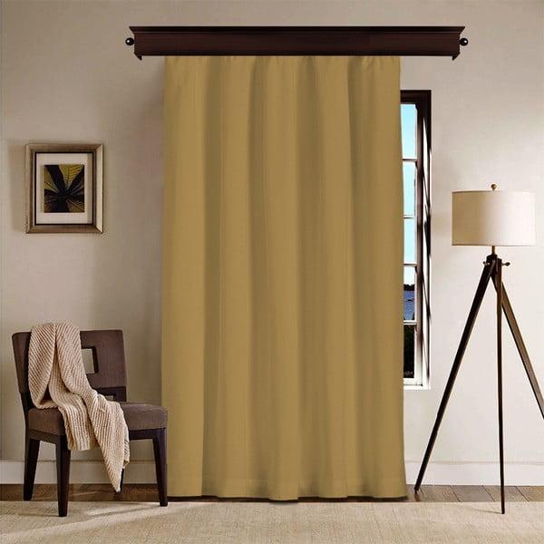 Draperie Curtain Gardo, 140 x 260 cm, maro muștar