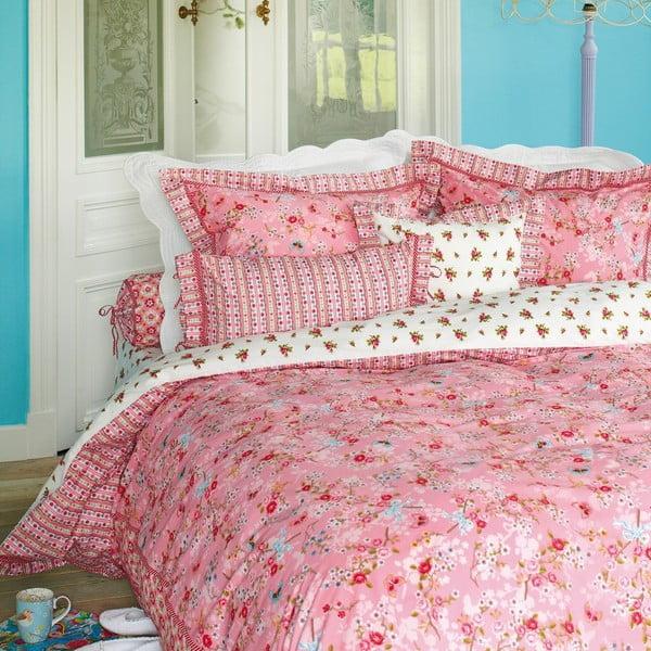 Povlečení s polštářem Chinese Blossom 140x200 cm, pink