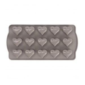 Silikonová forma na bonbony ve tvaru srdce Sabichi Cone