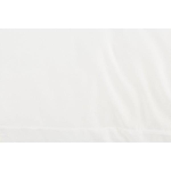 Bílý polštář z mikrovlákna, 70 x 50 cm
