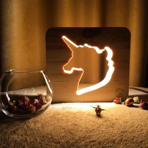 Dětská lampička Creative Gifts Jednorožec